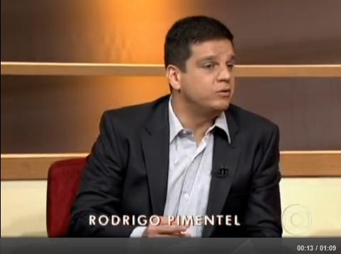 Rodrigo Pimentel: 'Preparação e seleção de vigilantes são precárias'