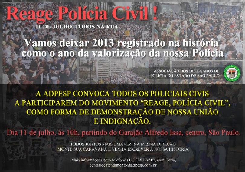 Reage PolÃ-cia Civil (1)