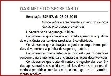 SSP-resolução
