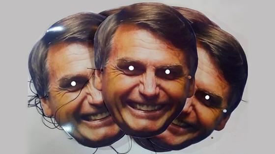 Resultado de imagem para a mascara caiu bolsonaro
